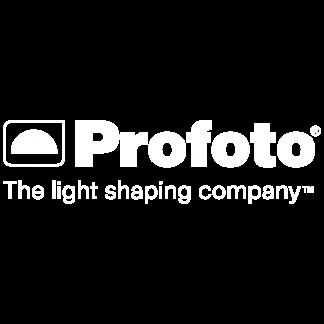 Profoto Logo Tagline White CMYK